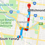 South Yarra to Osteo
